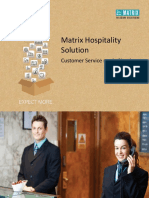 Matrix Hospitality Solution