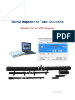 BSWA Impedance Tube Solutions-IsO&ASTM