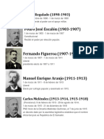 Presidentes de El Salvador Nayb Bukele