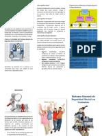 Evidencia AA1- Folleto Sistema General de Seguridad Social en Colombia