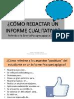 PDF 2, SEMANA 2 Informe Cualitativo