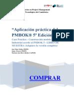 Aplicacion practica de PMBOK