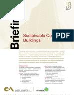 Sustainable building briefings