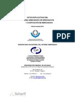 Notas Explicativas Del Sistema Armonizado de Designación y Codificacion de Mercancias Quinta Enmienda 2012-7