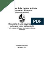 Desarrollo de Una Mayonesa Con - Yanisleidi Silva-Gomez