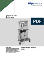 manuale uso primus