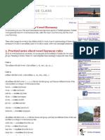 20 Notes on Vowel Harmony - Turkish Language Lessons