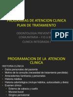 plan de tratamiento