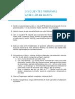 Ejercicios Arreglos de Datos (1)