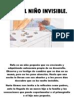 Libro Rafa, El Niño Invisible