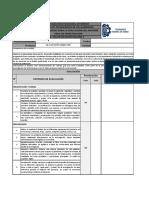 Lista de Cotejo Informe Final de Investigación