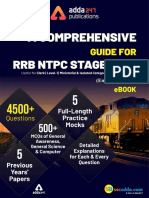 Index RRB NTPC Stage 1 & 2 eBook