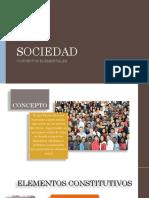 Concepto de Sociedad