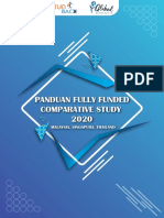 Panduan Fully Funded Comparative Study 2020