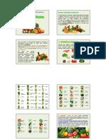Vegetais e Frutos