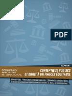 DRI TN FCO Rapport Contentieux Publics at Droit à Und Procès Équitable FR Web