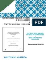 Contrato Entre Comisión Nacional de Hidrocarburos