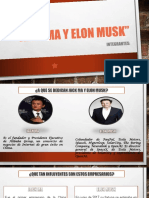 JACK MA Y ELON MUSK