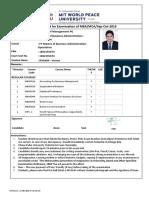 Admit Card MIT