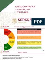 CPM Sedena Informe Culiacán, 30oct19