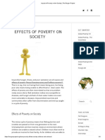 Impact of Poverty on the Society _ the Borgen Project