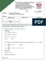 Facultad de ingeniería ecuaciones diferenciales
