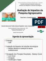 Avaliação de Impactos Da Pesquisa Agropecuária - Slides