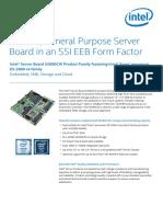 Server Board s2600cw Brief