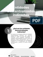 ENTIDADES DESCENTRALIZADAS EN COLOMBIA