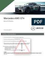 Mercedes Amg Gt4 drivetrain