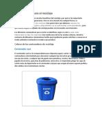 Contenedores Para El Reciclaje