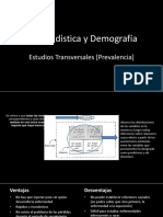 Bioestadística - Estudios Transversales