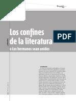 Nicolás Rosa - Los Confines de La Literatura (o los hermanos sean unidos)