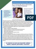 Boletín del Centro Mid-Sate de Orientación para los Primeros Años de la Infancia