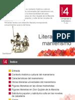 u4 Literatura Del Manierismo
