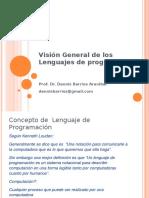 01_Visión General de Los Lenguajes de Programación