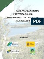 Plan de Manejo Colima y Resolución