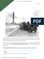 Desarrollo de La Guerra de Vietnam - RESUMEN