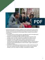 Implementacion Del Programa de Niños y Jovenes 2020