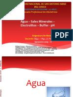 Agua Sales Minerales Electrolitos Ph
