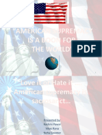 American Supremacy For