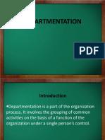 depatmentation-ppt