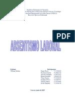 Absentismo Laboral Informe Modificado Crisdaris