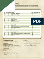 Paladin (Variant) Class