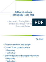 Wellbore LeakageTechnology Road Map - Intervention Strategies to Increase Wellbore Leakage Remediation Success Rates __wiasociety.org, 2016