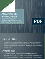 Andamios de Borriquetas (1)