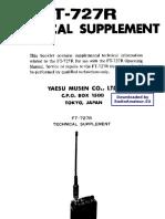 YAESU FT 727R Service Manual