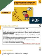 S3-Estrategias Para El Desarrollo Del Nivel Inferencial en La Comprensión de Textos Continuos y Discontinuos