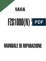 Yamaha Fzs Fazer 1000 2001
