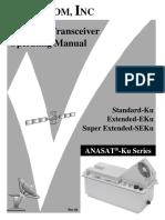 Manual RFU satélite